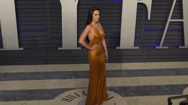 kacey musgraves at 2019 vanity fair oscar party hosted by radhika jones at wallis annenberg center for the performing arts on february 24, 2019 in... - vanity fair oscar party stock videos & royalty-free footage