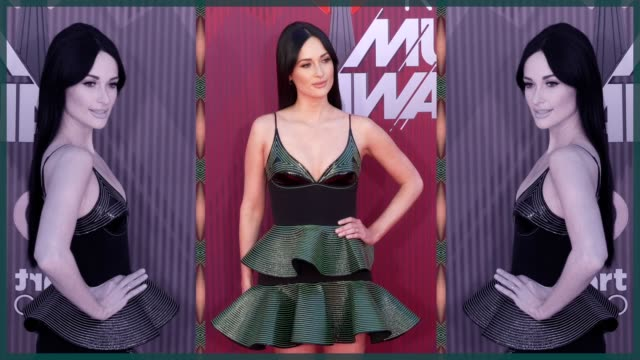 Kacey Musgraves at the 2019 iHeartRadio Music Awards at Microsoft Theater on March 14 2019 in Los Angeles California