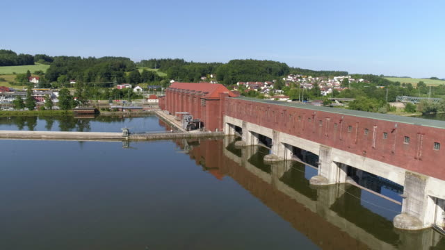 Kachlet Hydroelectric Power Station In Passau