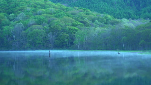 Kagami-ike(Mirror Pond), Nagano, Japan