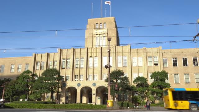 kagoshima stadshus i centrum, japan - editorial bildbanksvideor och videomaterial från bakom kulisserna