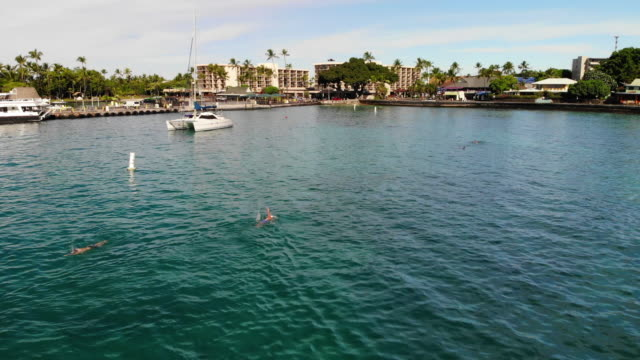 kailua bay - big island hawaii islands stock videos & royalty-free footage