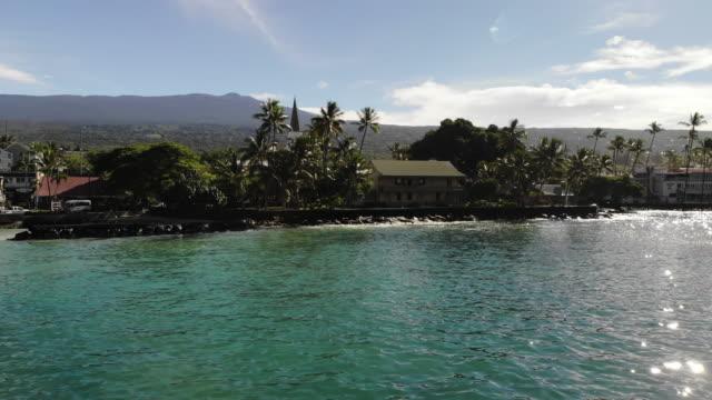 kailua bay - big island hawaii islands stock videos & royalty-free footage