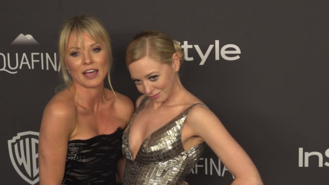 Kaitlin Doubleday and Portia Doubleday at 17th Annual InStyle And Warner Bros Pictures Golden Globe AfterParty at The Beverly Hilton Hotel on January...