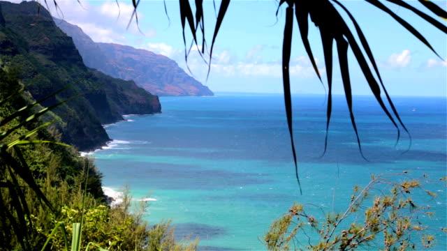 Kalalau Trail Landscape, Napali Coast State Park, Kauai, Hawaii