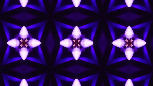vídeos y material grabado en eventos de stock de fondo abstracto de caleidoscopio 4k lazo - guirnalda