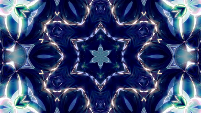 kaleidoscope 4k loop - kaleidoscope pattern stock videos & royalty-free footage