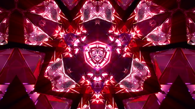 kaleidoscope 4k loop - kaleidoscope pattern stock videos & royalty-free footage