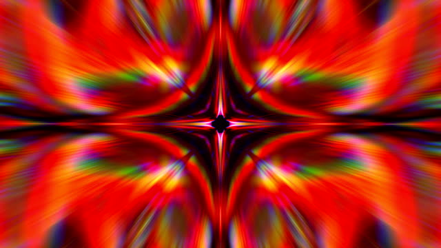 kaleidoscope 4k loop - psychedelic stock videos & royalty-free footage
