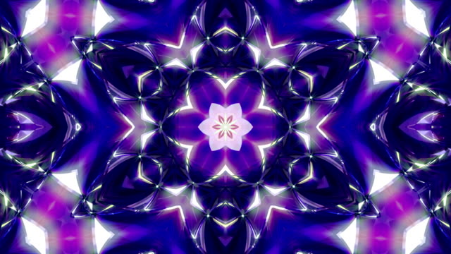 kaleidoscope 4k - kaleidoscope pattern stock videos & royalty-free footage