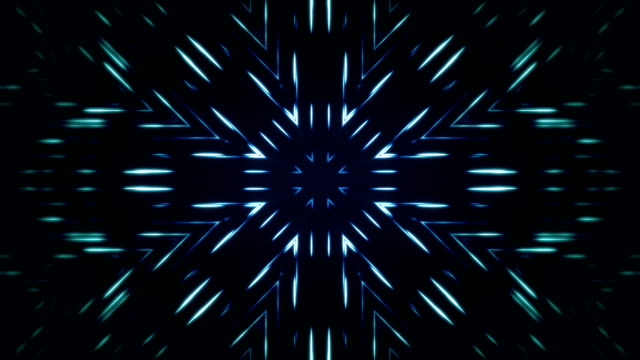 Kaleidoscope animation bacground loop