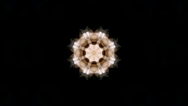 kaleidoscope background animation loop - kaleidoscope pattern stock videos & royalty-free footage