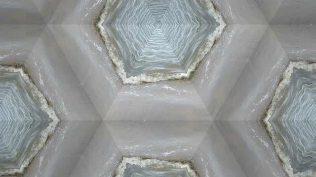 kaleidoskop-hintergrund-material für kreatives gestalten - effektivität stock-videos und b-roll-filmmaterial