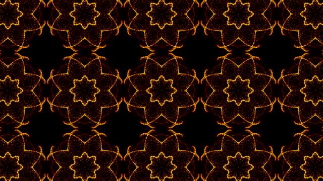 vídeos y material grabado en eventos de stock de caleidoscopio de fondo - caleidoscopio patrón