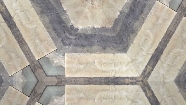 Kaleidoscope close up marble background