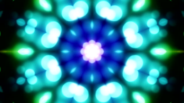 kaleidoscope loopable background - kaleidoscope pattern stock videos & royalty-free footage