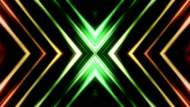 kaleidoscope of abstract shapes loop - loopable moving image stock videos & royalty-free footage