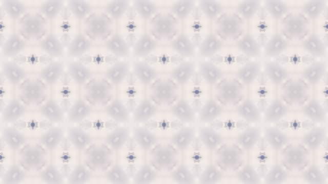 Kaleidoscope of patterns loop