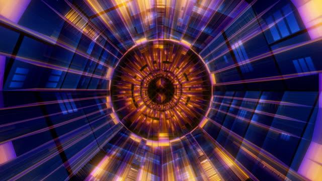 kaleidoscopic iris and pupil - artbeats stock-videos und b-roll-filmmaterial