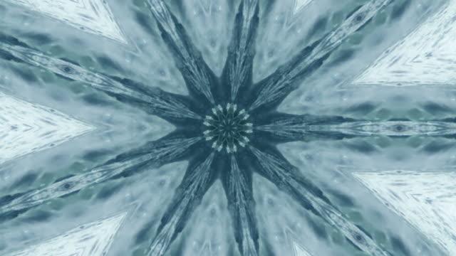 vídeos y material grabado en eventos de stock de kaleidoscopic water pulsed with patterns. - concéntrico