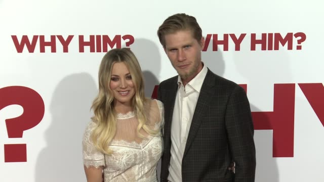 Kaley Cuoco and Karl Cook at the Why Him World Premiere at Regency Bruin Theater on December 17 2016 in Westwood California