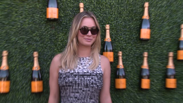 kaley cuoco at fourth annual veuve clicquot polo classic los angeles benefiting will rogers state historic park on 10/5/2013 in pacific palisades, ca. - fourth occurrence stock videos & royalty-free footage