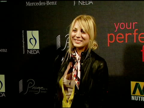 kaley cuoco at the paige denim book launch at paige premium denim boutique in west hollywood, california on february 28, 2008. - 2008 stock videos & royalty-free footage