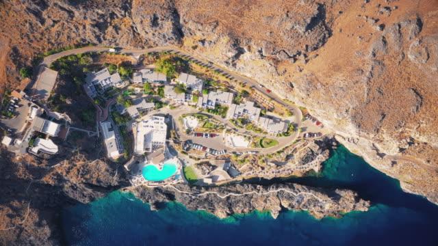 vidéos et rushes de kalypso beach - grèce