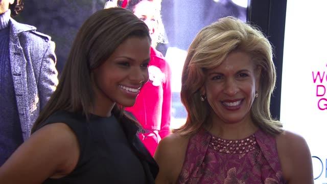 kamie crawford and hoda kotb at the self magazine women doing good awards at new york ny. - hoda kotb stock videos & royalty-free footage