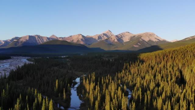 kananaskis country mountains - calgary stock videos & royalty-free footage