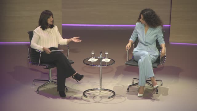 interview kangana ranaut on bollywood films objectifying women at the new face of india kangana ranaut women in the world summit at cadogan hall on... - bollywood stock videos and b-roll footage