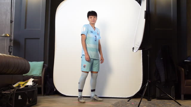 Kanjanaporn Saenkhun at FIFA Women's World Cup France 2019 Team Portrait Session on June 08 2019 in Reims
