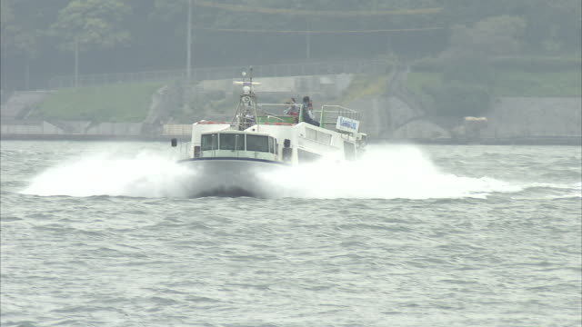 kanmon straits in japan - ferry stock videos & royalty-free footage