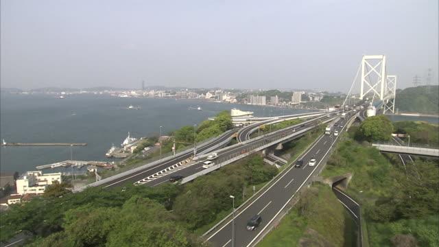 Kanmon Straits In Japan