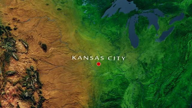 Kansas City 4K Zoom In