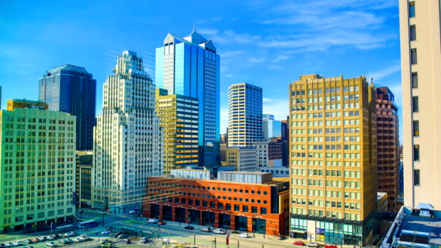 kansas city, mo - kansas stock-videos und b-roll-filmmaterial