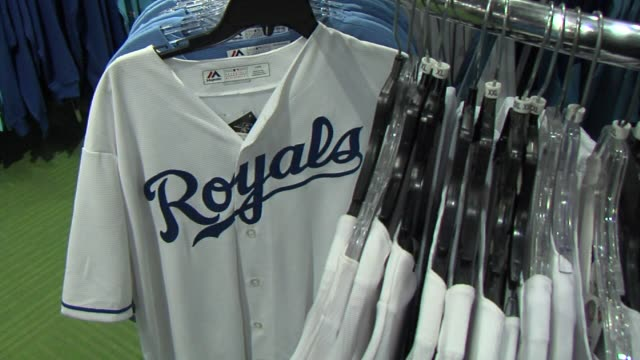 WDAF Kansas City Royals Merchandise at a Store in Kansas City on October 15 2015