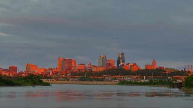 Kansas City Time Lapse Zoom In 4k