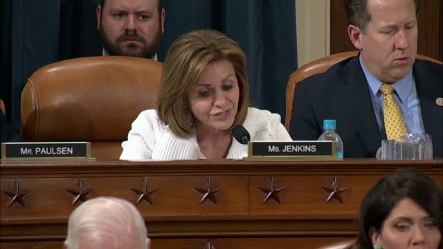 Kansas Representative Lynn Jenkins challenges Commerce Secretary Wilbur Ross at a House Ways and Means Committee hearing about the role of...