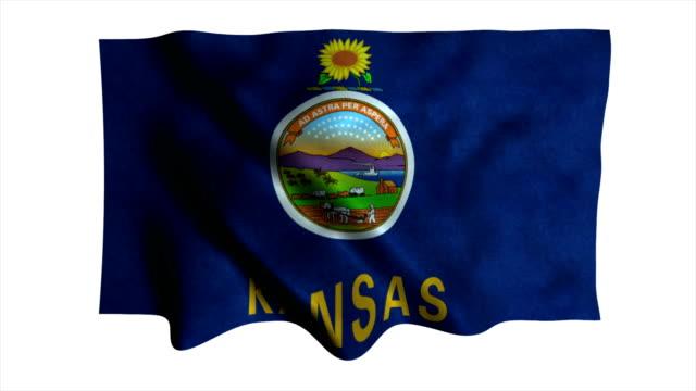Kansas Zustand-Markierungsfahne