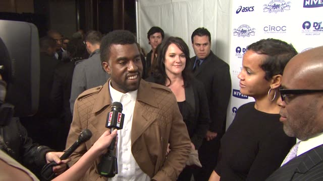 Kanye West and LA Reid at the NIVEA at the Island Def Jam 2009 GRAMMY's After Party at Los Angeles CA