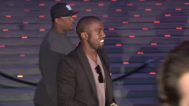 Kanye West at the 8th Annual Tribeca Film Festival Vanity Fair Party at New York NY