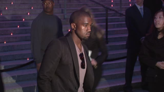 kanye west at the 8th annual tribeca film festival vanity fair party at new york ny - vanity fair video stock e b–roll