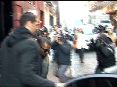 Kanye West at the Mercer Hotel in SoHo at the Celebrity Sightings in New York at New York NY