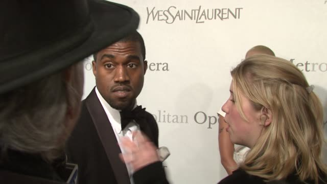 Kanye West at the The Metropolitan Opera's 125th Anniversary Gala at New York NY
