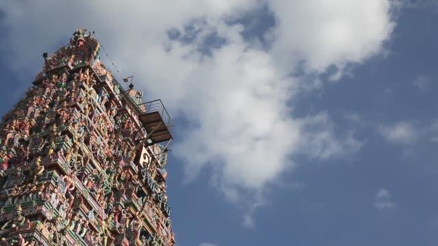 kapaleeshwarar temple, mylapore, chennai, tamil nadu, india - chennai stock videos & royalty-free footage