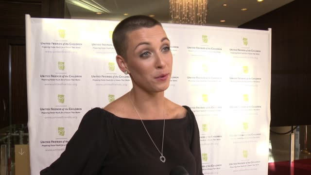 kara allen soldati on what we are celebrating, why the work the ufc does is so important, talks about this years honorees and what she's most looking... - brass stock videos & royalty-free footage