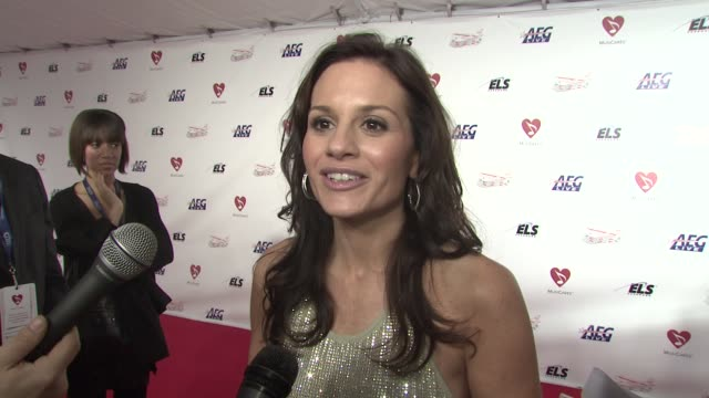 Kara DioGuardi on the music of Neil Diamond the event iconic status of Neil Diamond at the MusiCaresr 2009 Person Of The Year Tribute at Los Angeles...