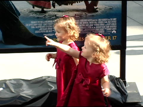 kara hoffman and shelby hoffman at the 'lemony snicket's a series of unfortunate events' world premiere at the cinerama dome at arclight cinemas in... - shelby stock videos & royalty-free footage