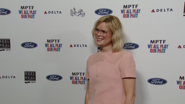 kara holden at the 7th annual reel stories real lives event benefiting mptf at directors guild of america on november 08 2018 in los angeles... - director's guild of america stock videos & royalty-free footage